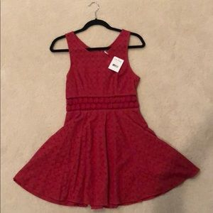 Free People NWOT red sundress size 4